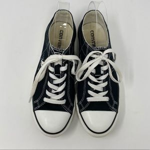 Converse One Star Sneakers Black Size 8.5